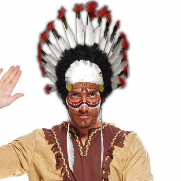 coiffe d'indien