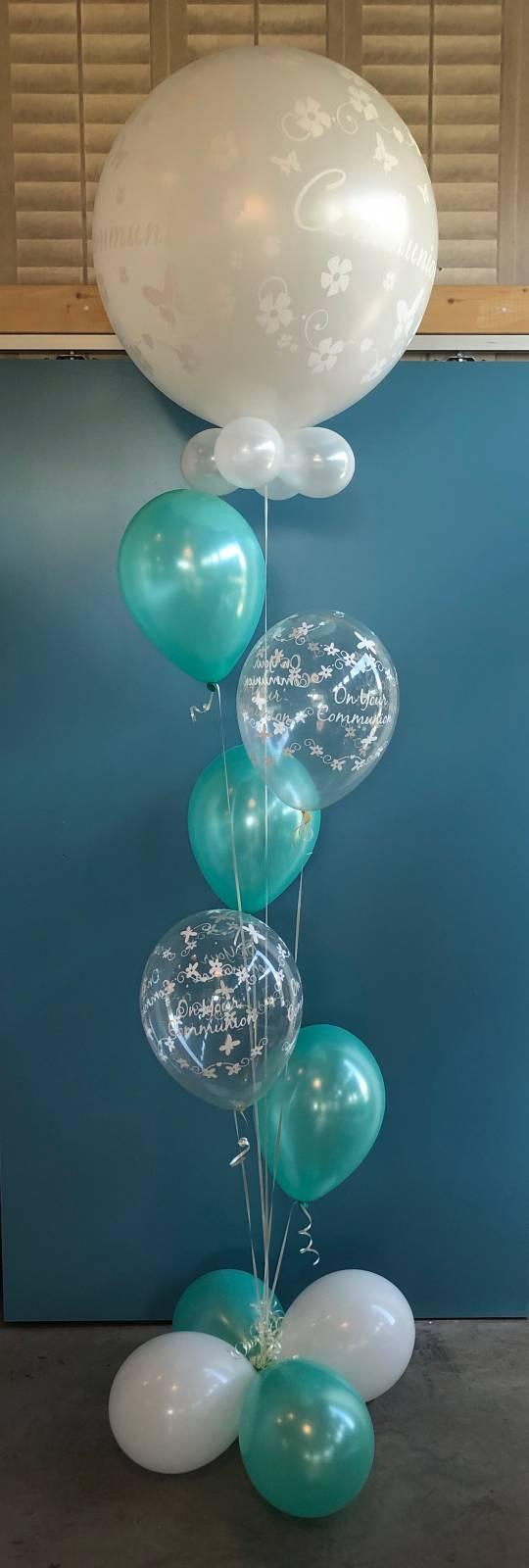 composition ballons communion