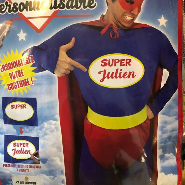 super heros deguisement
