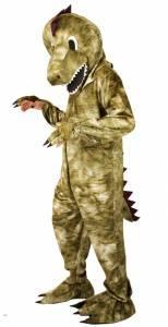 Mascotte de dinosaure