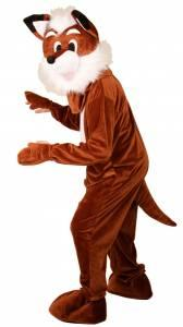 Mascotte de renard