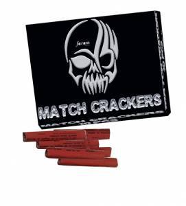 Match crackers pétards à gratter