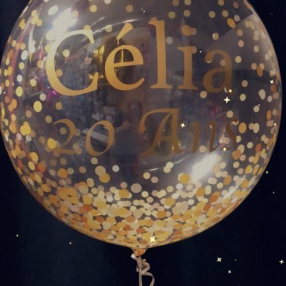 Ballon helium personnalisé